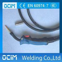 15AK MIG / MAG Grip Handle MB15 MIG / MAG Welding Torch 3 meter