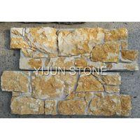 YIJUN STONE/ yellow natural stone/ Fireplace stone/ wall stone thumbnail image