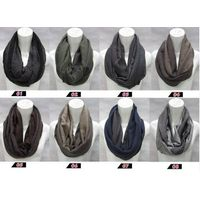 2014men's 100%polyester fashion loop scarf PG942