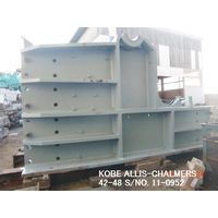 "USED ""KOBE"" ALLIS-CHALMERS (A-1) 48"" X 42"" DOUBLE TOGGLE JAW CRUSHER S/NO. 11-0952 WITHOUT MOTOR"