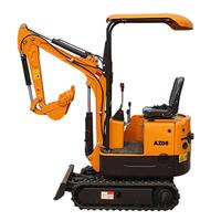 2020 new AZ08 1TON mini excavator