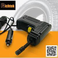 Portable tire inflator gun/gun tire inflator