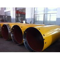 Drilling rig double-walled casing tube, double casing tube