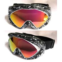 Ski goggles with UV protection