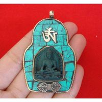 Tibetan Buddha Statue Pendant