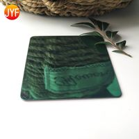 Emerald Green Stainless Steel Decorative Panel