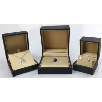 JA0105,JA0305,JA0505 Soft Touch Plastic Jewelry Box