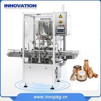 Automatic cosmetic packaging machine with full solution