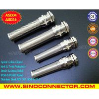 Metal Spiral Cable Glands /Flex-protecting Metal Cord Grips /Metal Cable Glands with Bend Protection