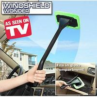 Windshield Clean Fast Easy Shine Car Auto Wiper Cleaner Glass Window Brush Handy Windshield wonder