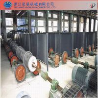 Concrete pile production line