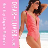 2011 new sytle one piece ruffle swimingwear for ladies