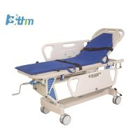 Patient Transfer Trolley - Luxury lift cart Patient Transfer Cart Medical record Trolley  thumbnail image