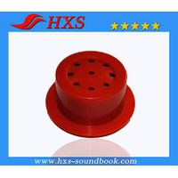 Alibaba Wholesale Custom Plastic ABS Round Voice Box