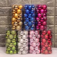 wholesale Christmas Balls Colorful Glitter Hanging Decorative Baubles Ball Party