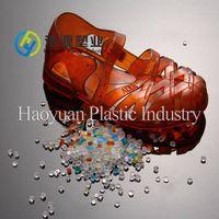 transparent pvc pellet for slippers