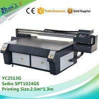 CE approved large format ceramic tile printing machine with printing size 2.5m1.3m