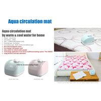 Aqua circulation mat by warm & cool water for home