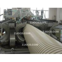 Large-diameter reinforced pvc pipe extrusion production line thumbnail image