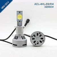 4HL 3200LM D4 LED Light Bulb DC12-24V with CE,RoHS