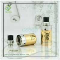 Geeco clone smoking black cat vaporizer drip tips 1:1 clone clear atomizer atmos vaporizer
