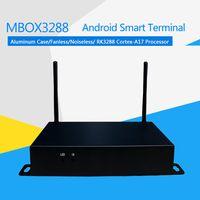 DJ-Mbox3288 Android Smart Terminal Fanless Noiseless Arm Mali-T764 GPU