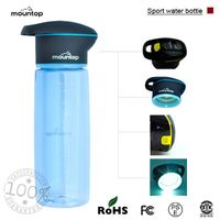 Pomotion BPA free travel water bottles With UV Lamp