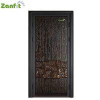Zanfit bulletproof cast aluminum main door