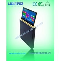 Ultra-slim LCD Monitor Lift-Smart Convertible Flat Panel Desk Solution
