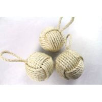 Handcraft Knotted Sisal Rope Ball
