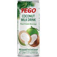 coconut milk juice drink on sale