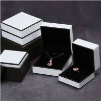 leather cover packaging jewelry plastic box,jewelry box thumbnail image