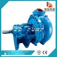 diesel engine sand suction pump for marine dredging