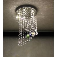 good quality and competitive price of modern top k9 crystal ceiling light/lamp 6020-5