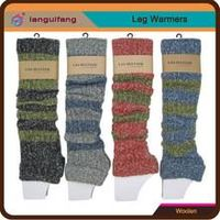 Pretty Style Plain Leg Warmer with Colorful