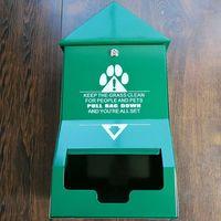 Pet Waste Station Dispenser dog poop stations dog waste stations  thumbnail image