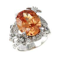 Big stone ring designs men's ring brass jewelry