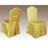 Jacquard Hotel Restaurant Chair Cover Wedding Decorations