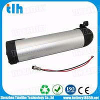 10S4P 36V 10.4Ah Water Bottle E Bike battery with Samsung ICR18650-26F 2600mAh battery cells