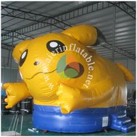 Super model of large inflatable bicar
