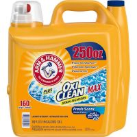 Arm & Hammer Plus OxiClean Max Liquid Laundry Detergent 250 fl oz, 160 Loads thumbnail image