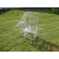 clear resin chiavari chair thumbnail image