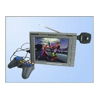 """Portable 8.4"""" DVD player with TV/FM/GAME/DIVX/USB"""