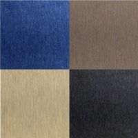 Satin Finish Stainless Steel Decorative Sheet Colored Stainless Steel thumbnail image