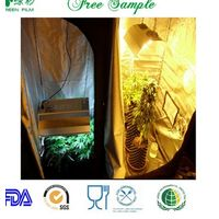 PEVA non-toxic oxford 600D mylar fabric for greenhouse plant grow tent