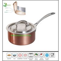 Wholesale stainless steel small copper pots