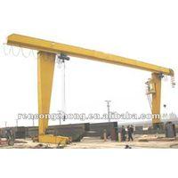 5-10T L model electric hoist mobile goliath crane