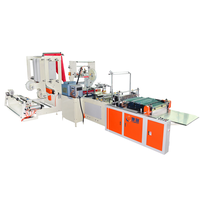 All-in-one courier bag making machine