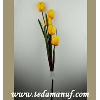 Artificial flower of Tulips for Home Decor
