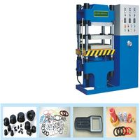 vulcanize rubber products hydraulic press machine